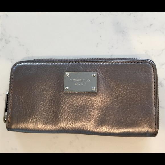 68c265c57765 MICHAEL Michael Kors Bags | Michael Kors Iridescent Leather ...